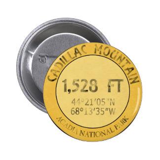 Cadillac Mountain 6 Cm Round Badge