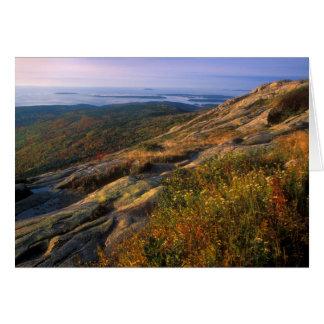 Cadillac Mountain Acadia National Park Card