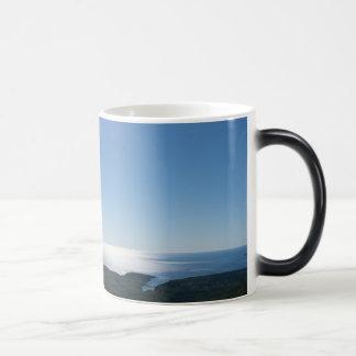 Cadillac Mountain Black/White 11 oz Morphing Mug