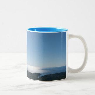 Cadillac Mountain Light Blue 11 oz Two-Tone Mug
