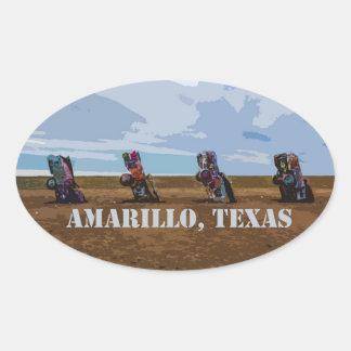 Cadillac Ranch - Amarillo, Texas Sticker