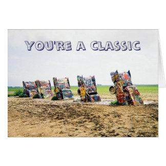 Cadillac Ranch Card