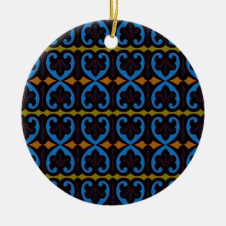 Cadiz Round Ceramic Decoration