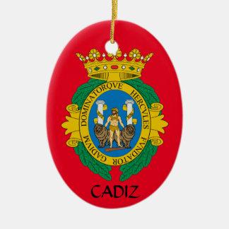 Cadiz*, Spain Christmas Ornament