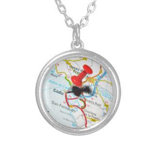 Cadiz, Spain Silver Plated Necklace
