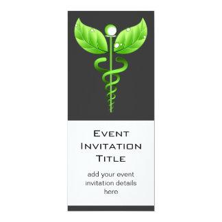 Caduceus: Alternative Medicine Event Invitation