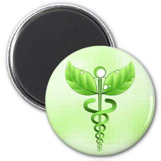 Caduceus Medical Icon Alternative Medicine Magnets Fridge Magnets