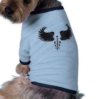 Caduceus Medical Symbol Dog Clothes