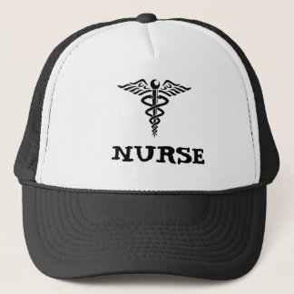 Caduceus Nurse Hat