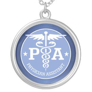 Caduceus PA2 gift ideas Round Pendant Necklace