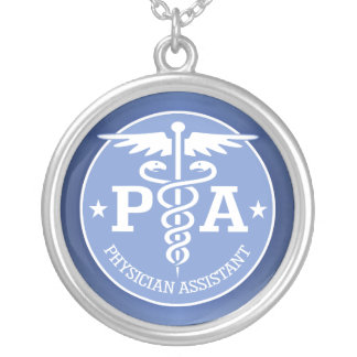 Caduceus PA2 gift ideas Silver Plated Necklace