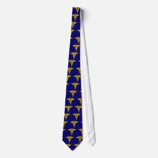 Caduceus Tie