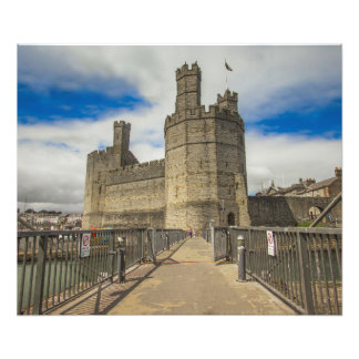 Caernarfon Castle Wales. Photo Print