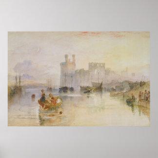 Caernarvon Castle Poster