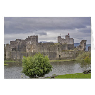 Caerphilly Castle Card