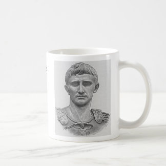 Caesar Augustus Basic White Mug