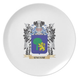Caesar Coat of Arms - Family Crest Plates
