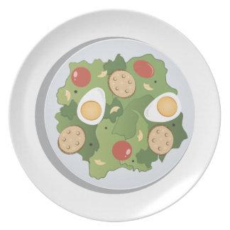 Caesar Salad Dinner Plates