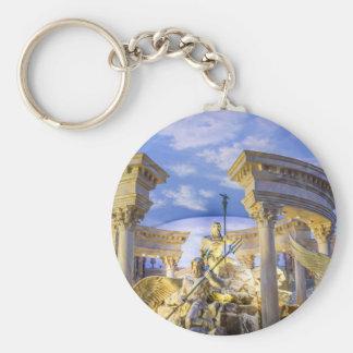 Caesars Palace Las Vegas Statue Hotel Casino Key Ring