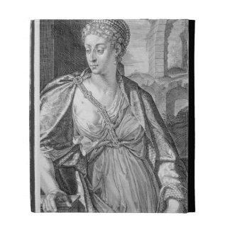 Caesonia wife of Caligula (engraving) iPad Cases