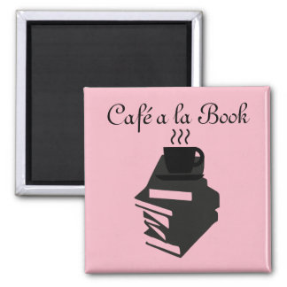 Cafe a la Book magnet