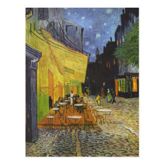 Cafe at Night by Vincent Van Gogh Postcards