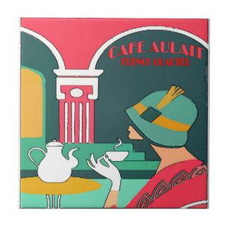 Cafe Aulait, French Quarter Tile