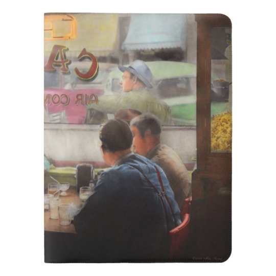 Cafe - Cold drinks with friends 1941 Extra Large Moleskine Notebook