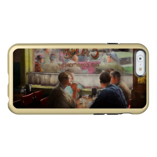 Cafe - Cold drinks with friends 1941 Incipio Feather® Shine iPhone 6 Case