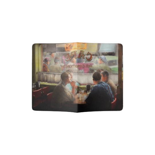 Cafe - Cold drinks with friends 1941 Passport Holder