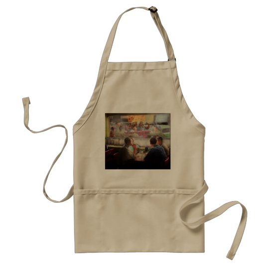 Cafe - Cold drinks with friends 1941 Standard Apron