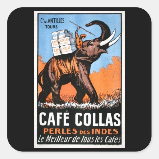 Cafe' Collas Sticker