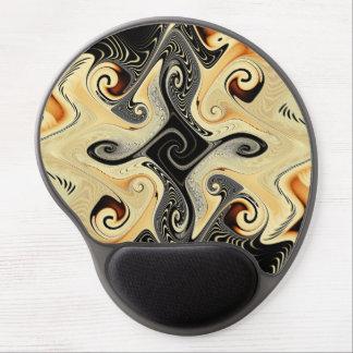 Cafe Con Leche Fractal Gel Mouse Pad