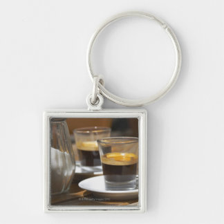Cafe culture key chains