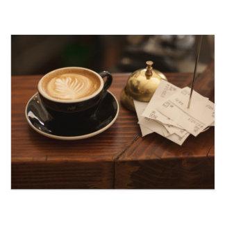 Cafe Culture Postcard
