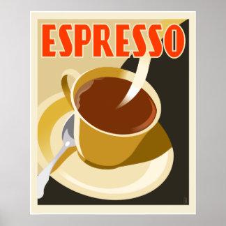 Cafe Deco Espresso Posters