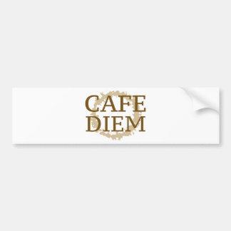 Cafe Diem Bumper Sticker