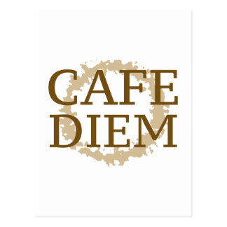 Cafe Diem Postcard