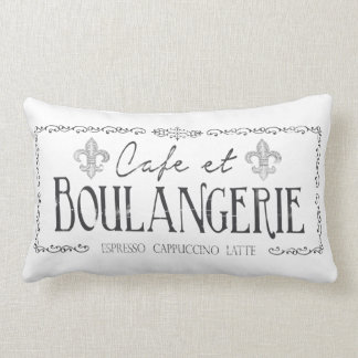 Cafe et Boulangerie French Pillow decor