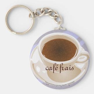 Café frais key ring