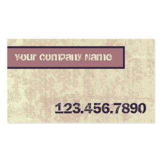 Cafe Grunge Shop Business Card