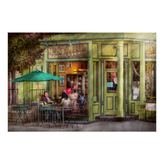 Cafe - Hoboken NJ - Empire Coffee Tea Poster