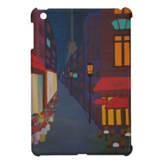 Cafe in Paris iPad Mini Cover