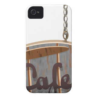 cafe iPhone 4 Case-Mate case