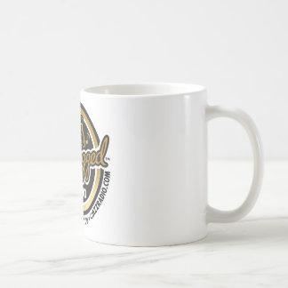 Café Jazzed Radio logo coffee cup. Coffee Mug