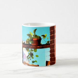 Cafe life coffee mug