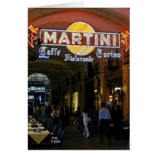 Cafe Martini Card