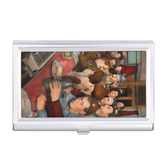 Cafe - Midnight Munchies 1943 Business Card Holder