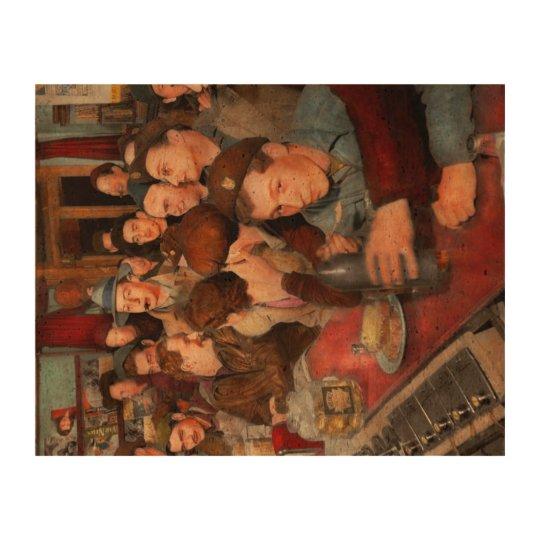 Cafe - Midnight Munchies 1943 Cork Fabric