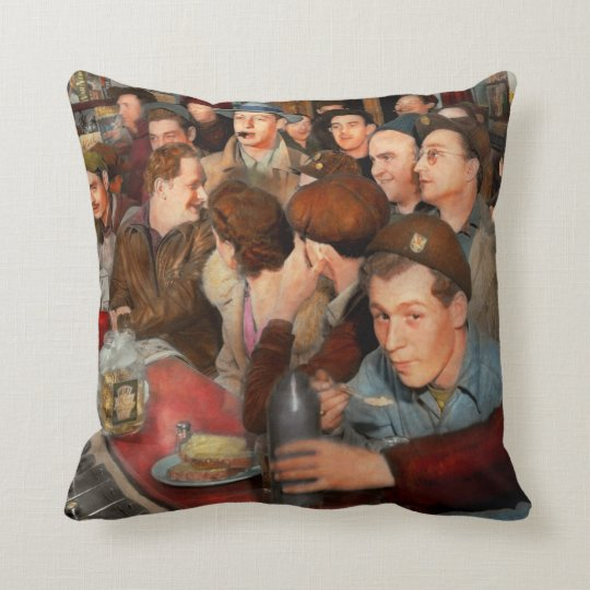 Cafe - Midnight Munchies 1943 Cushion